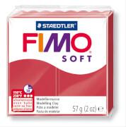 STAEDTLER FIMO soft 8020 - Materialpack á 57 g, kirschrot