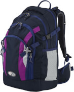 Rucksack YZEA ACE, STYLE anthrazit/pink