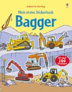 Mein erstest Stickerbuch Bagger