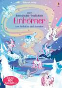 Mein Rubbelbilder-Kreativbuch: Einhörner