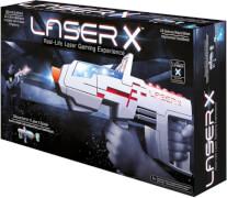 Beluga Spielwaren 79002 Laser X Deluxe Blaster, weiß